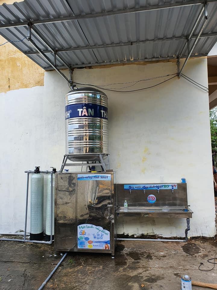 Hệ thống nước uống tinh khiết cho trường học