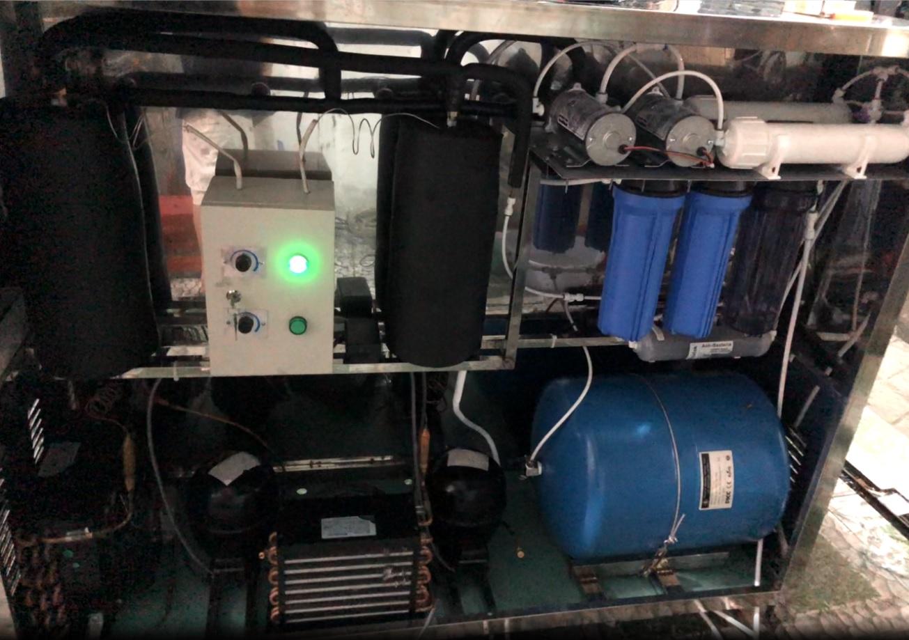 Hệ lọc nước máy nước uống nóng lạnh