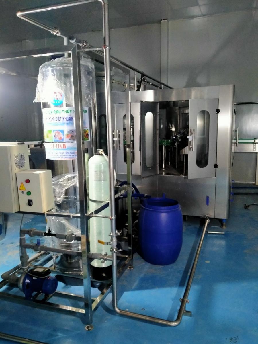 Hệ thống nước Ozone rửa rau, thủy hải sản, xúc rửa bình