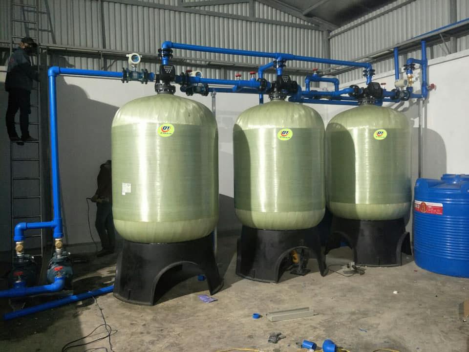 Hệ thống làm mềm nước cứng 20m3