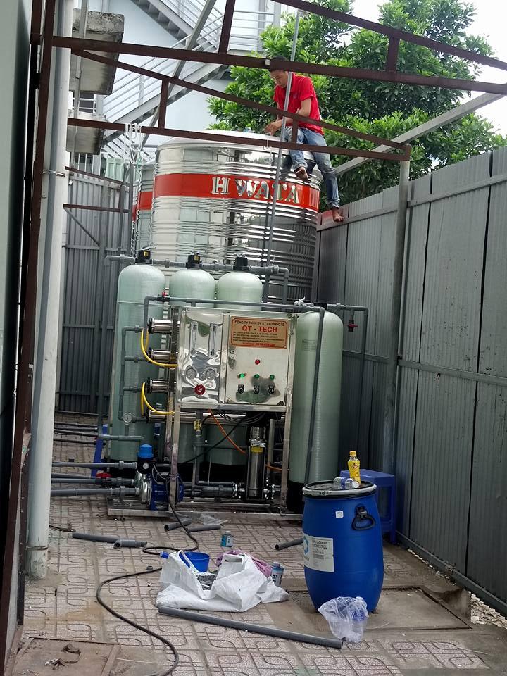 xử lý nước nhiểm mặn công nghệ RO