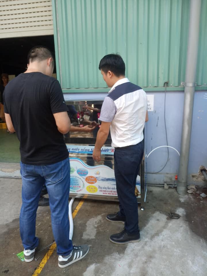 máy lọc nước uống nóng lạnh 3 vòi cao cấp