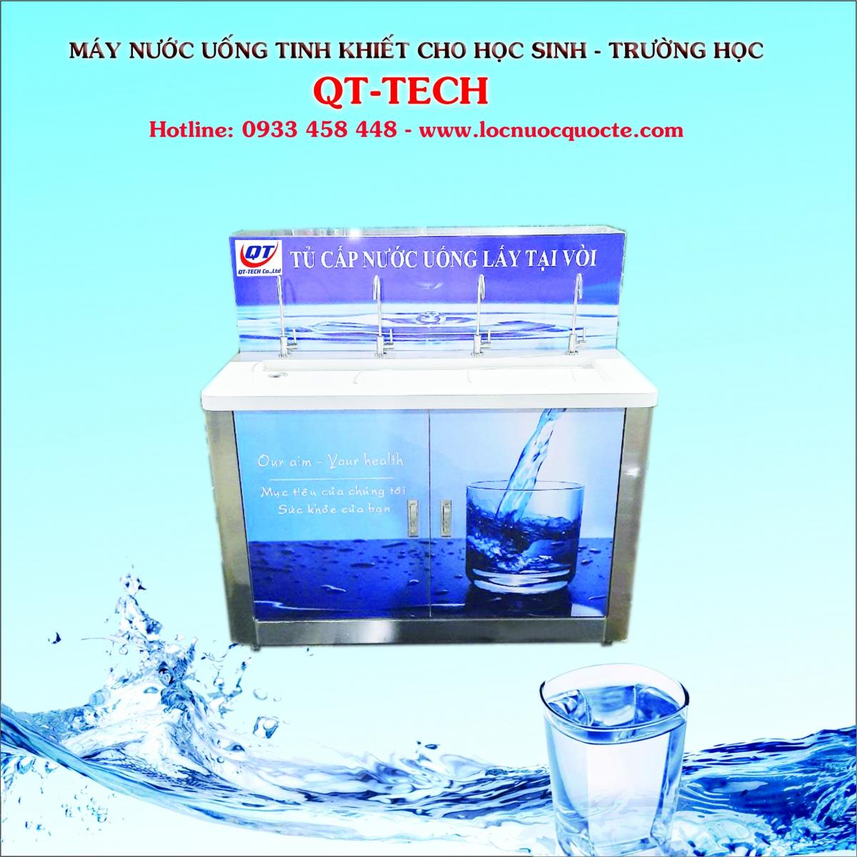 máy nước uống 4 vòi