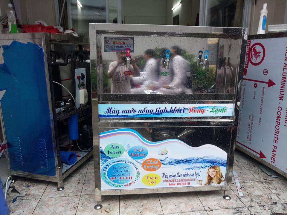máy lọc nước uống nóng lạnh 3 vòi công nghiệp