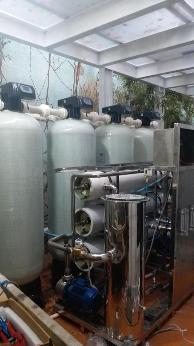xử lý nước nhiểm mặn