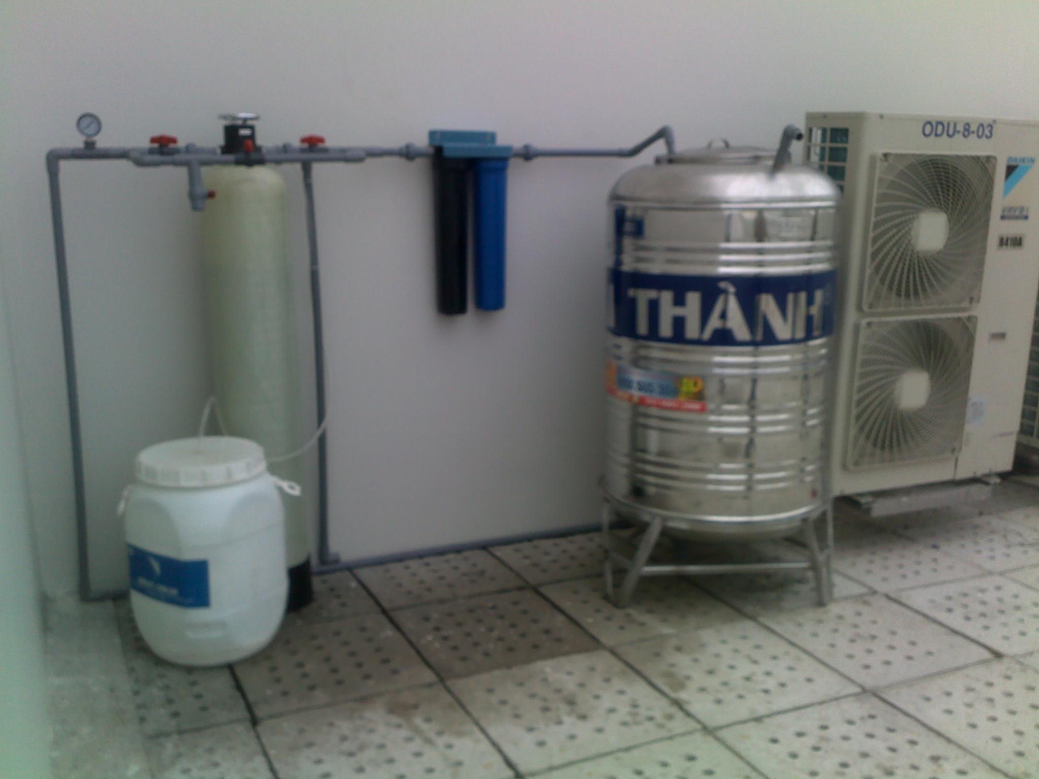 Hệ thống làm mềm nước