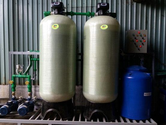 Hệ thống làm mềm nước cứng công suất 20m3