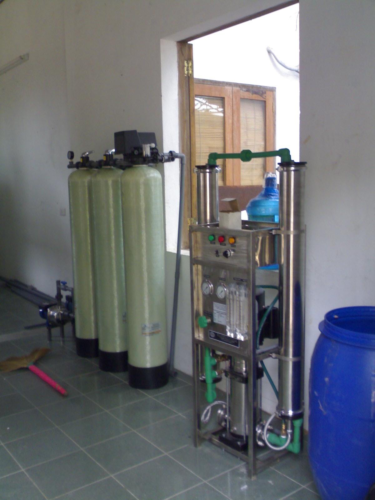 Hệ thống lọc nước đóng bình 500 lít/giờ