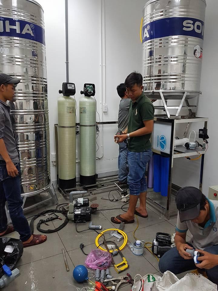 Hệ thống xử lý nước xét nghiệm y khoa, dược phẩm