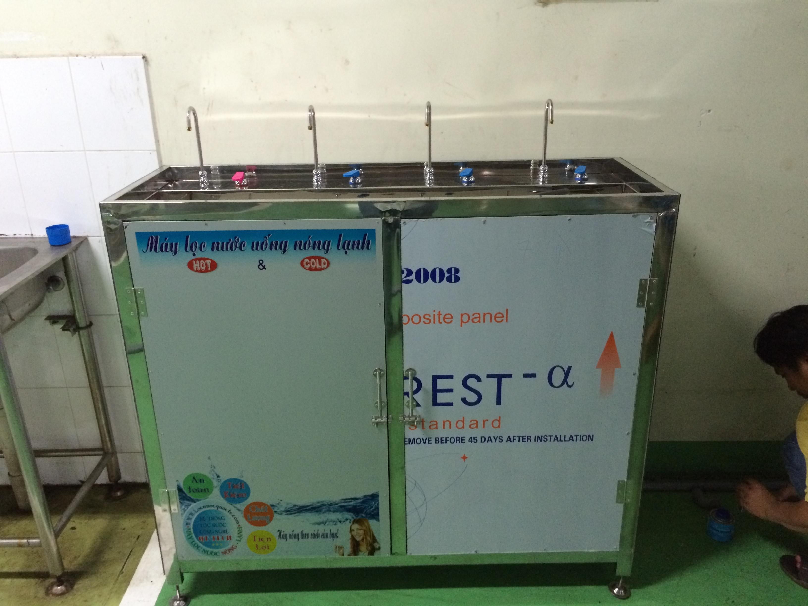 Máy lọc nước uống nóng lạnh 4 vòi