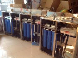 Hệ thống lọc nước tinh khiết dân dụng