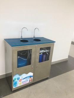 Máy lọc nước uống tinh khiết 2 vòi RO UV