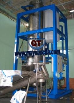 Máy sản xuất nước đá viên tinh khiết công suất 10 tấn/ngày