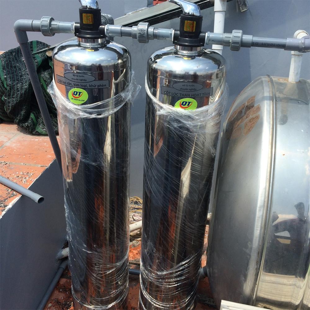 Xử lý nước giếng nhiễm phèn