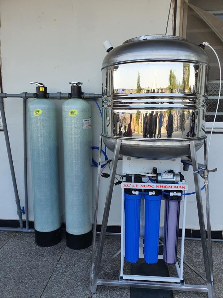 Xử lý nước nhiễm mặn